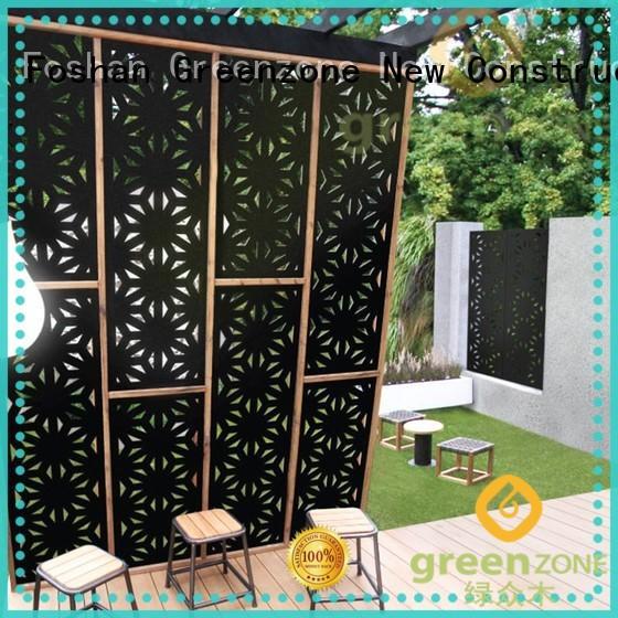 Greenzone wood wood railings wood plastic outside yard