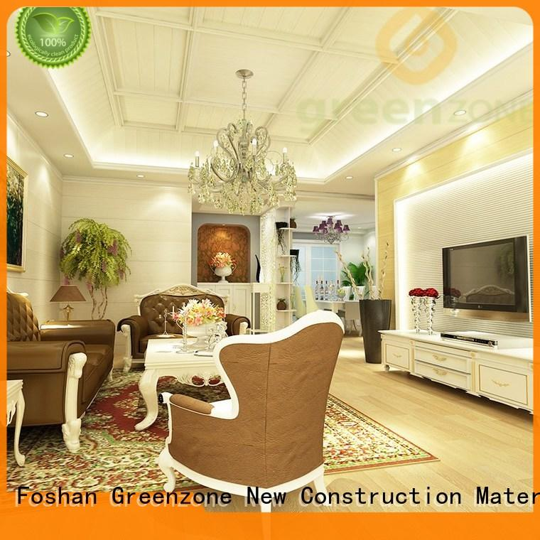 Greenzone friendly wooden wall panels for sale price public works