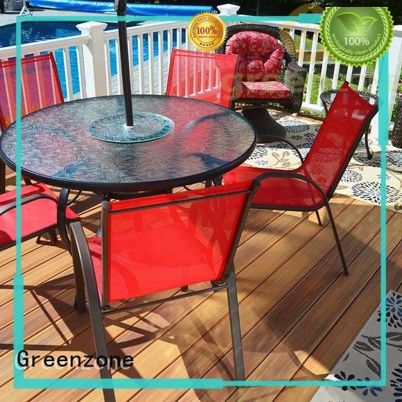 style decking natural composite wood flooring Greenzone Brand
