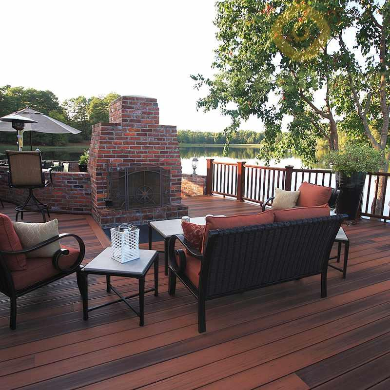 DNC14025  Nature Classic Wood Plastic Composite outdoor Decking 140*25mm