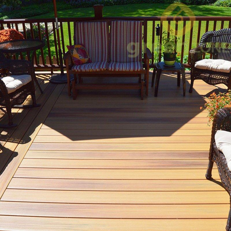 DEP14023 Hot-selling & Popular WPC  Outdoor Hollow Decking - Greenzone Eco Wood 140*23mm