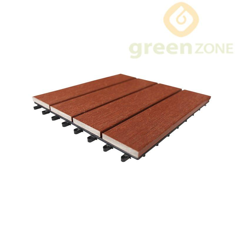 DT1 Greenzone Super DIY co-extrusion WPC outdoor decking 300*300mm