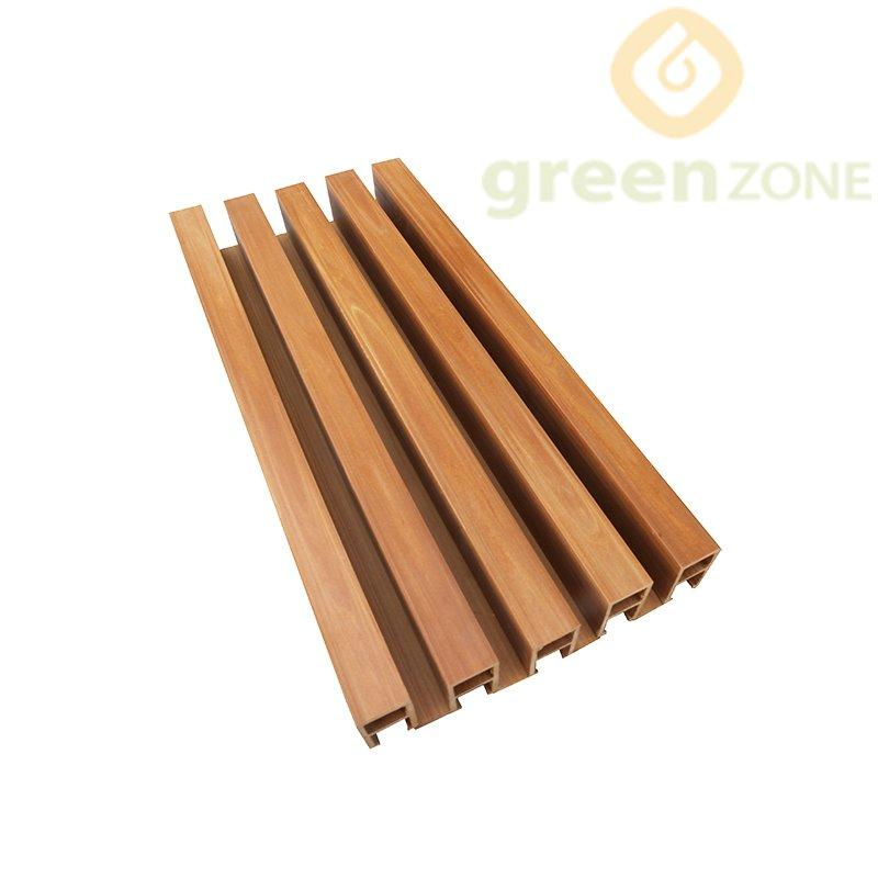 C3050   Natural Texture Wood Plastic Composite Interior Clip Ceiling board 30*50mm