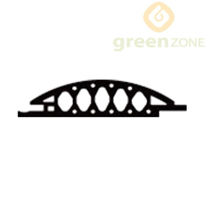 W105  Greenzone Exclusive Semicircle shape of WPC Wall Cladding and Ceiling 105*25mm
