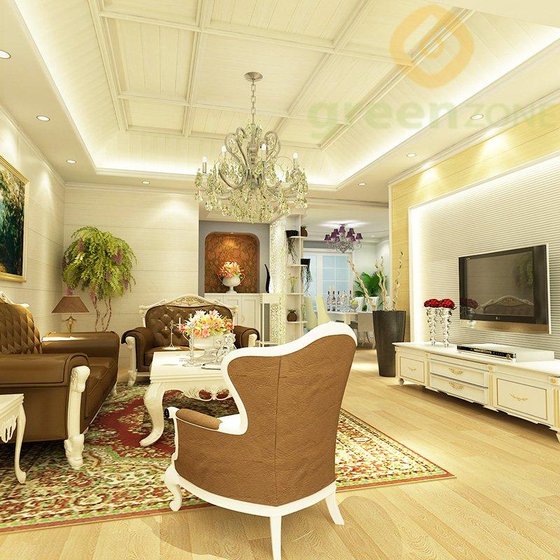 W169   Widely used Wood Plastic Composite Wall Cladding and Ceiling 125*12mm