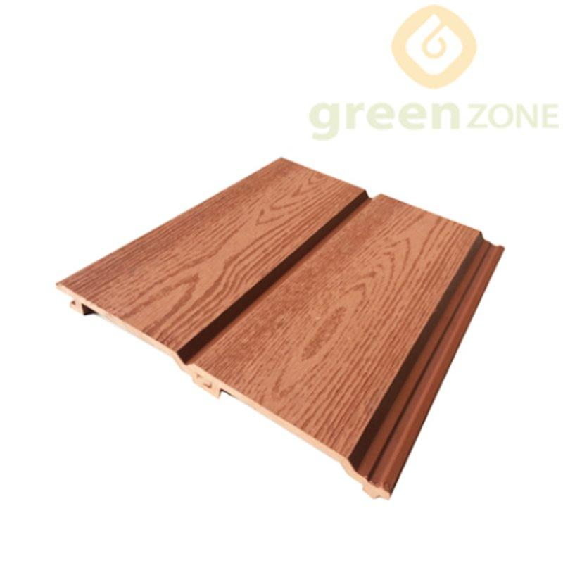 WEP15621   Anti-UV Exterior Wood Plastic Composite Wall Cladding  156*21mm