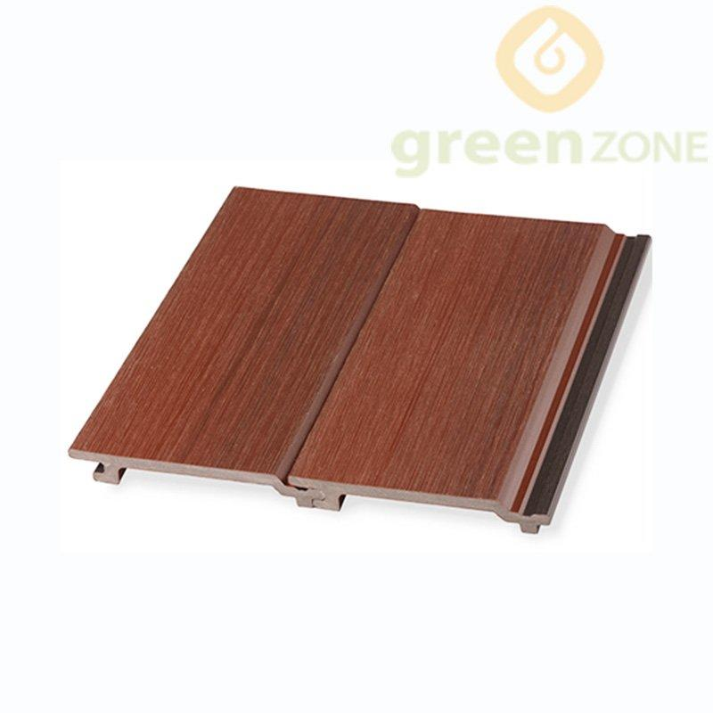 WEL15621 Good color fastness Co-Extrusion Exterior Wood Plastic Composite Wall Cladding  156*21mm