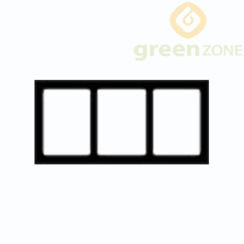 B100  Greenzone Hot-sell water-proof and rot-proof  Eco-wood Timber Tube 50*100mm
