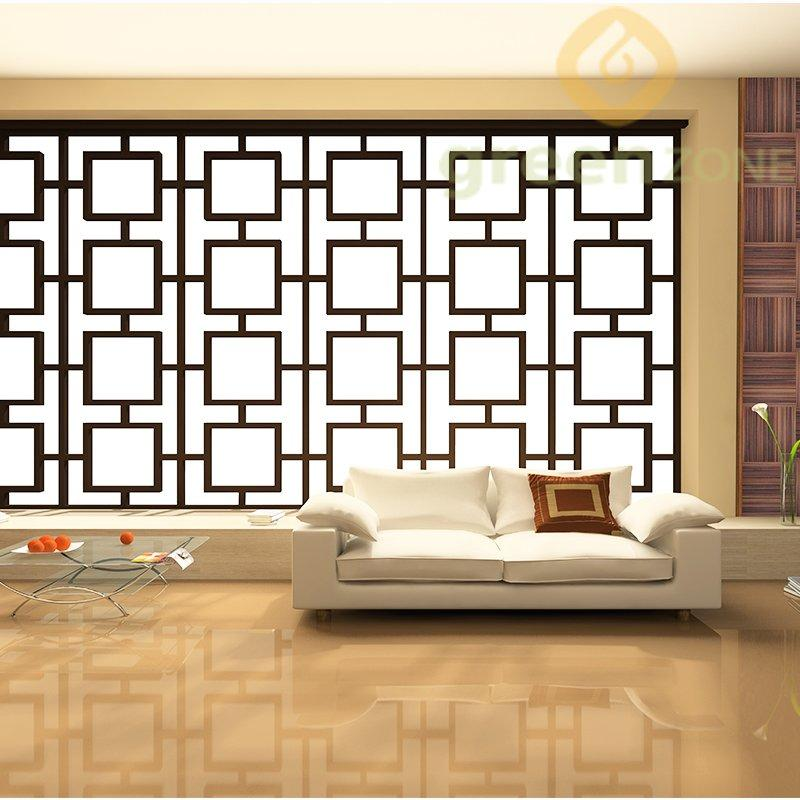 2503   Anti-termite and Non-toxic Wood Plastic Composite Interior Mosaic  300*300mm