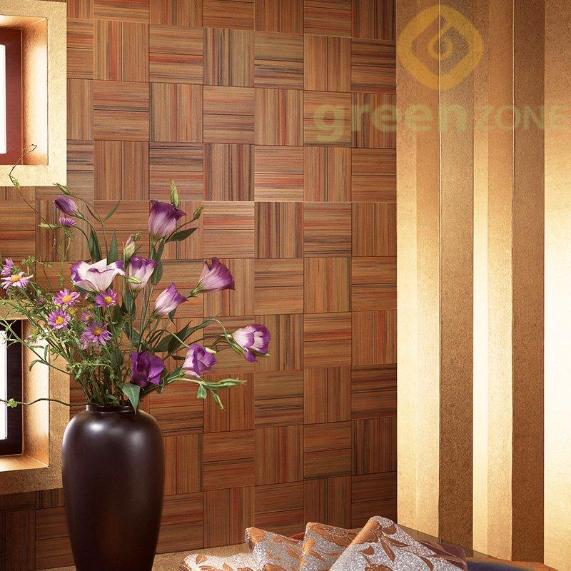 5002 Easy installation WPC Indoor Mosaic Panel 300*300mm