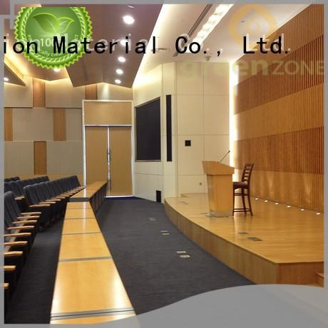 Greenzone interior wood effect cladding Factory price personal building