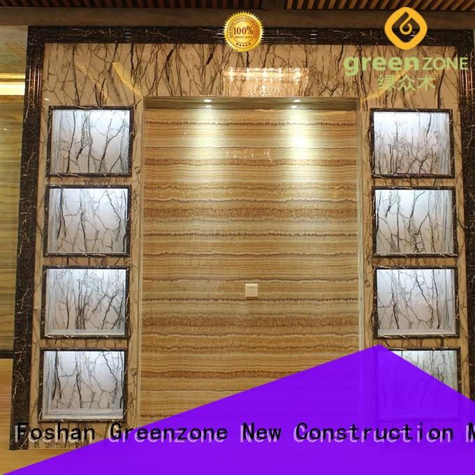 Greenzone big marble wall cladding hot sale resort