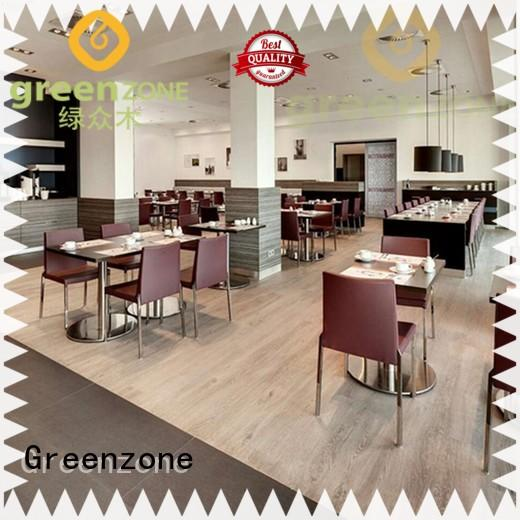 Greenzone waterproof vinyl flooring manufacturers modern design garden