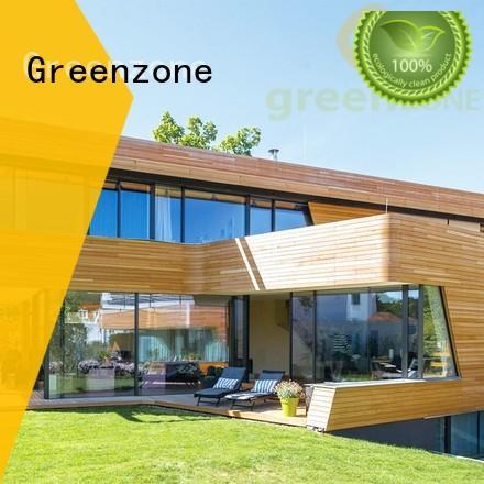 Greenzone cladding composite wood cladding natural resort