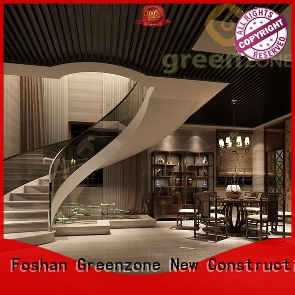 Greenzone latest modern wood ceiling recyclable
