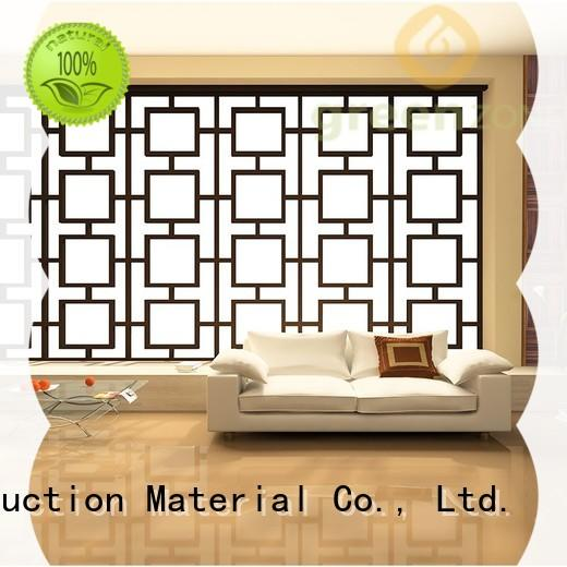 anti-termite reclaimed wood wall panels indoor thermal modified wood garden