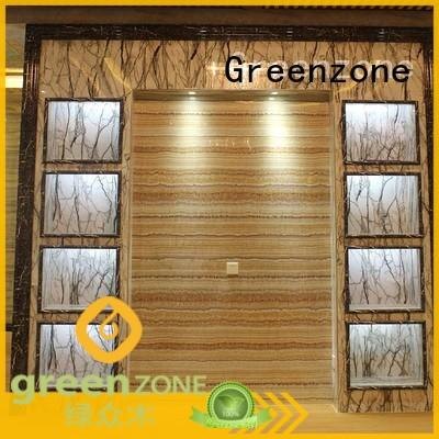 Greenzone environmentally marble wall cladding Indoor residential