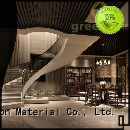Greenzone latest wood ceiling boards recyclable garden