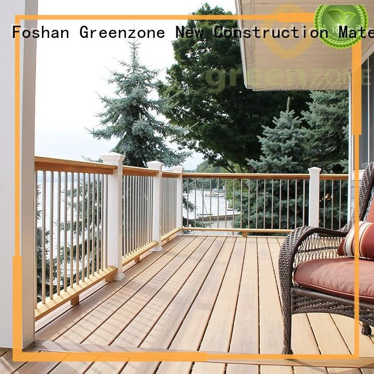 Greenzone wall decorative outdoor wood floor tiles wall covering shopping mall