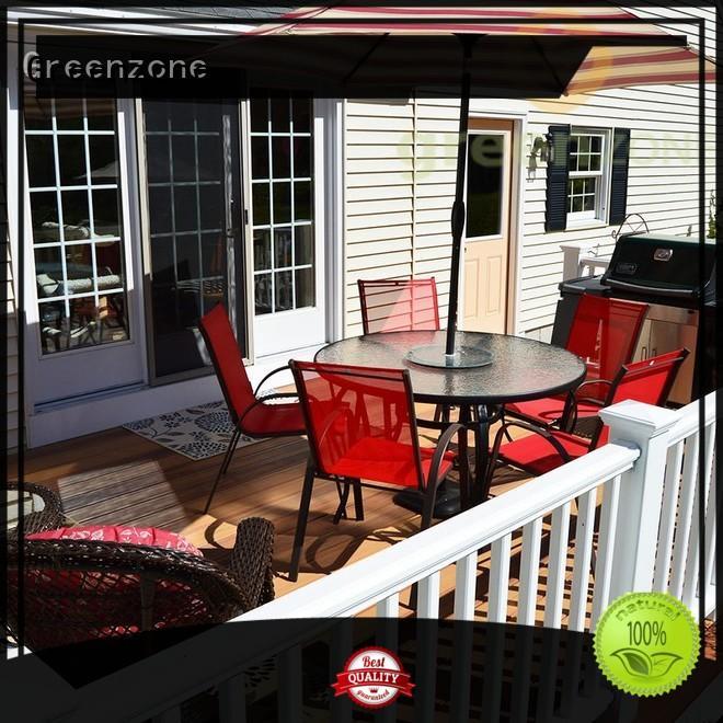 Greenzone Brand exterior eco custom hardwood decking boards