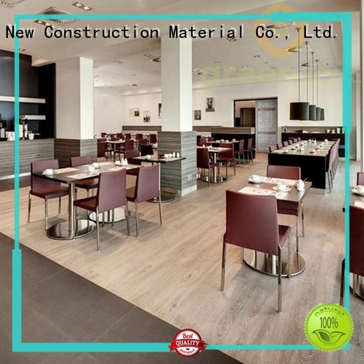 Greenzone waterproof pvc vinyl flooring modern design park,