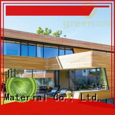 Greenzone exterior wood interior wall paneling natural for sheds