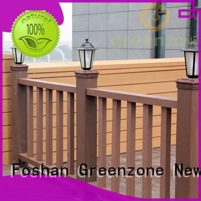 Greenzone outdoor wood fence panels wholesale outside yard