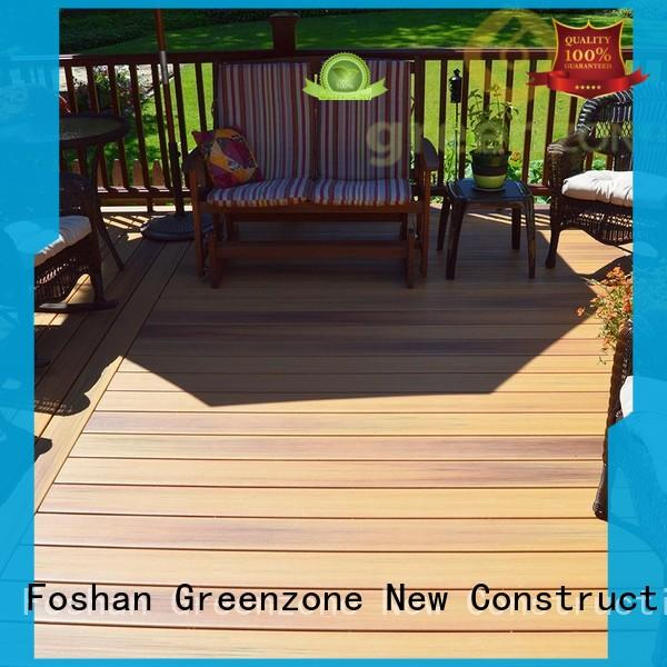 Hot hollow hardwood decking boards stability Greenzone Brand