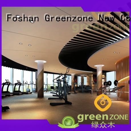Greenzone composite wood ceiling boards recyclable garden