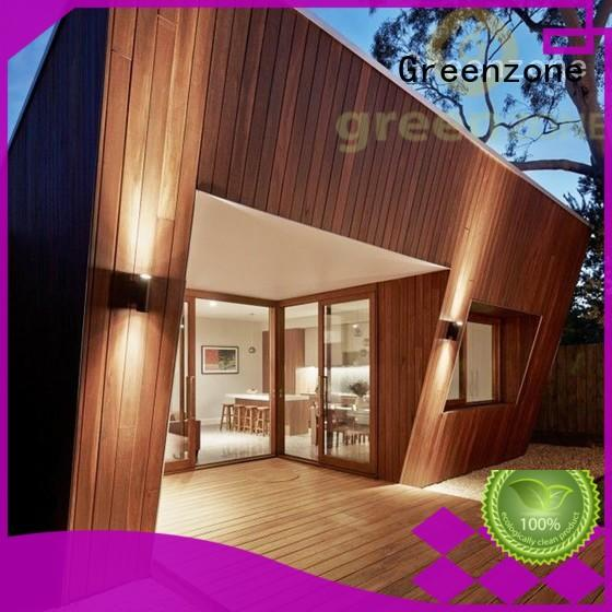Greenzone exterior plastic wood effect cladding manufacturer house
