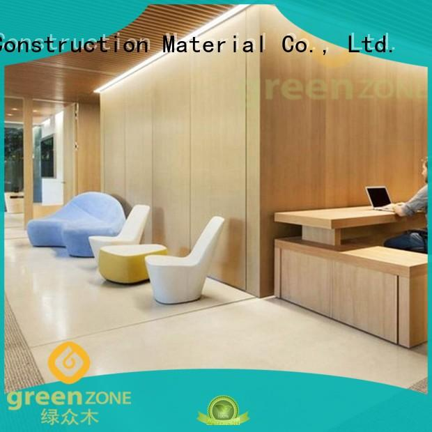 Greenzone Brand 5560mm wood indoor ceiling wpc ceiling