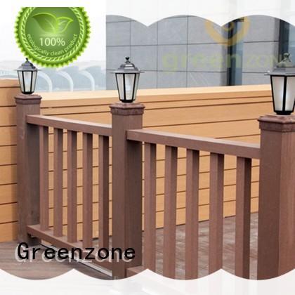 Greenzone custom wood deck handrail wholesale garden
