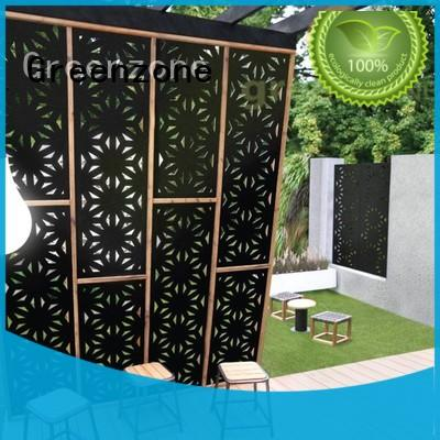 Greenzone notoxic wpc outdoor wall panel decorative railing garden