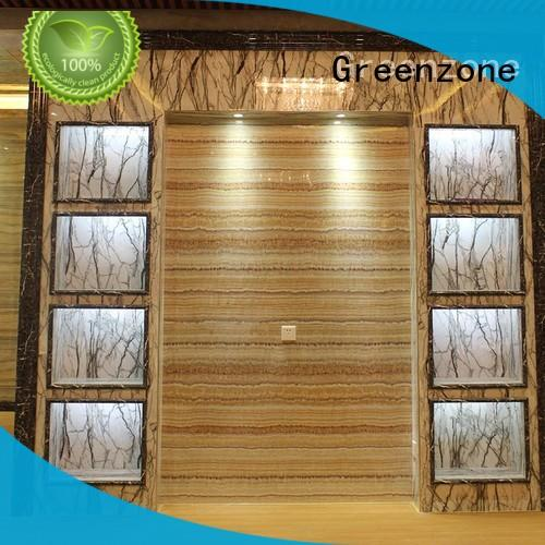 Greenzone eco uv marble sheet manufacturer Indoor residential