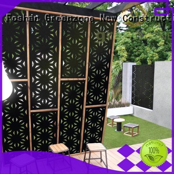 Greenzone 600120015mm lowes wood fence panels wholesale outside yard