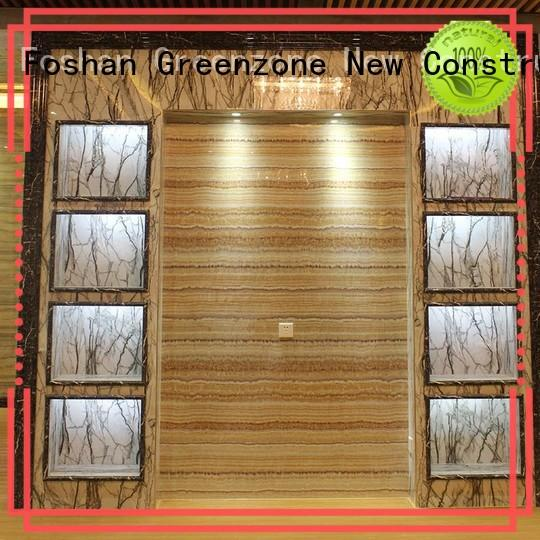 Greenzone environmentally natural stone marble wholesale resort
