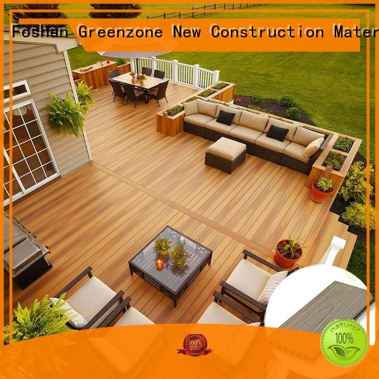 wpc planks wood hardwood decking supply Greenzone Brand
