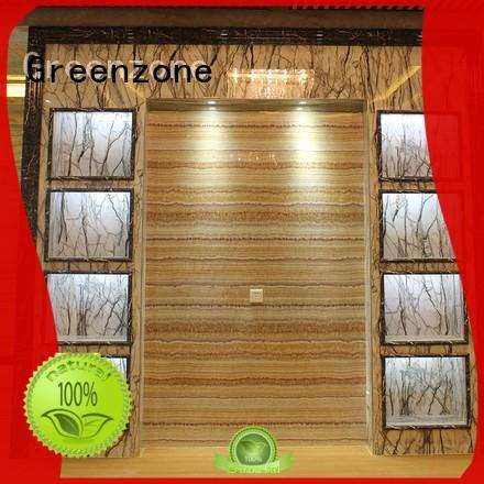 Water-proof and Environmentally friendly Indoor Eco Big Marble UV Panel 1220 * 2440mm