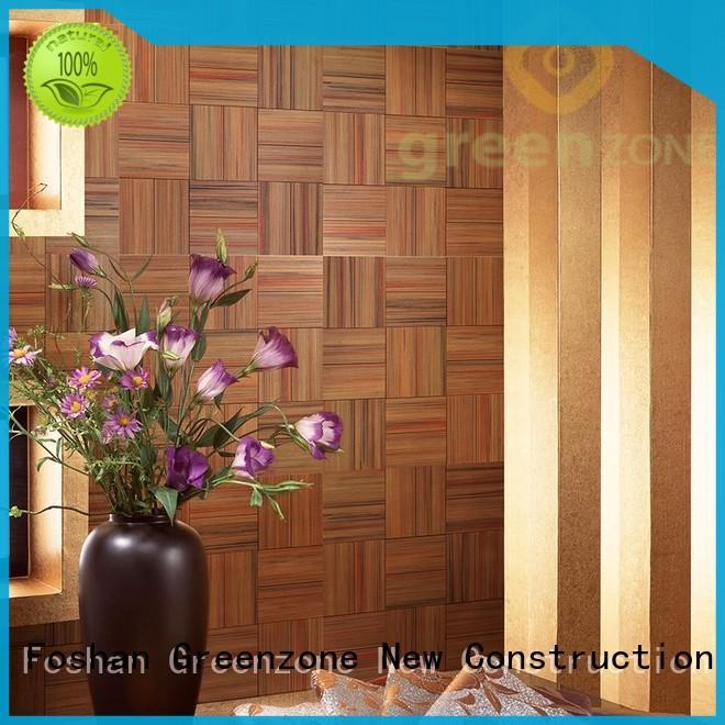 best wood mosaic art indoor thermal modified wood garden