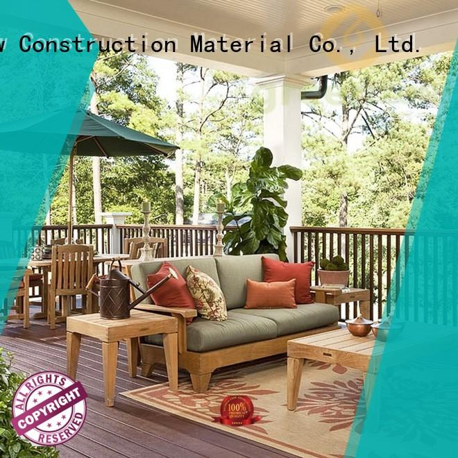 plastic classic natural Greenzone Brand wood decking material manufacture