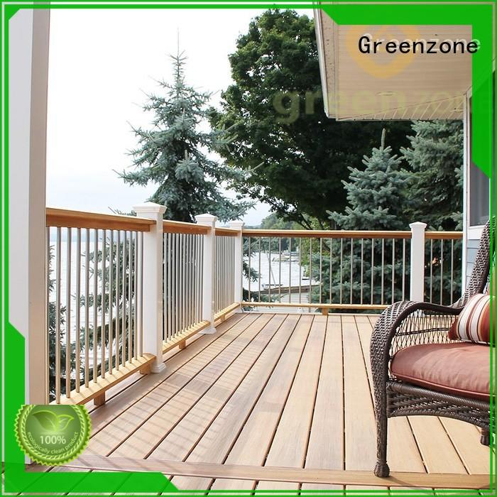 Greenzone dep14025r wpc wood wall covering resort