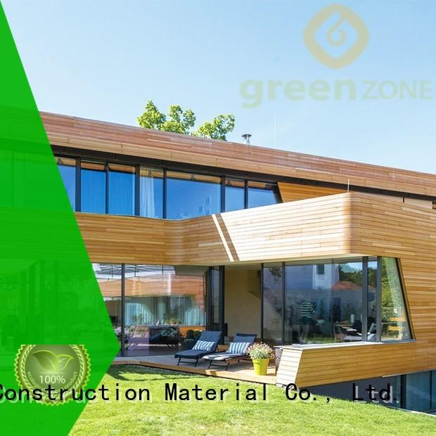 Greenzone high quality wood cladding for sheds top-sale restaurant