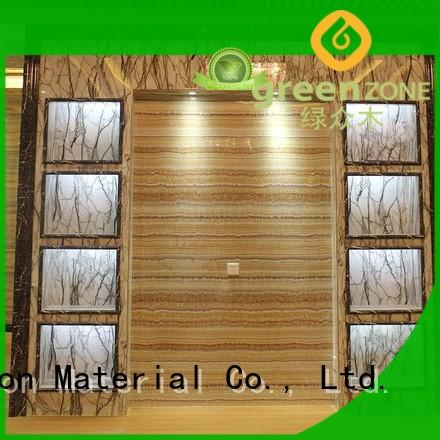 Greenzone floor covering uv marble sheet Indoor residential