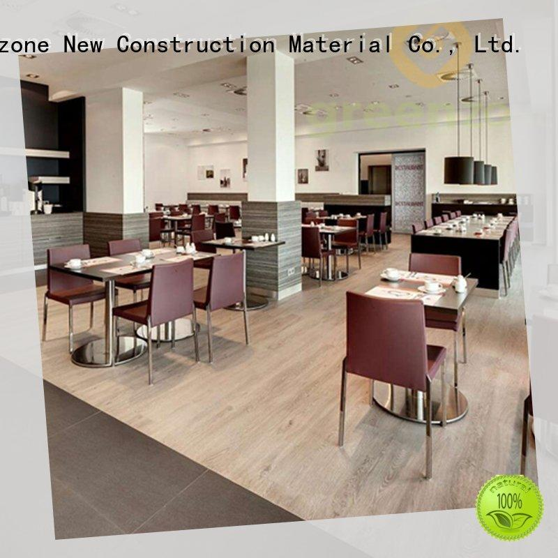Greenzone super vinyl flooring click system modern design office