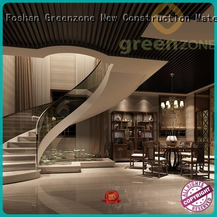 Greenzone maintenance wood ceiling tiles recyclable