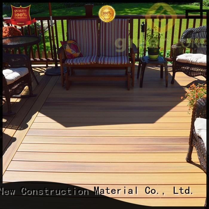 exterior hotselling wpc wood plastic composite flooring Greenzone Brand company