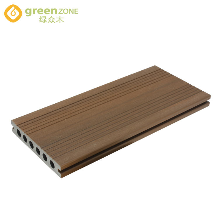 WPC Co-extrusion Outdoor Hollow Decking DEL139225- Greenzone Eco Wood 139*22.5mm
