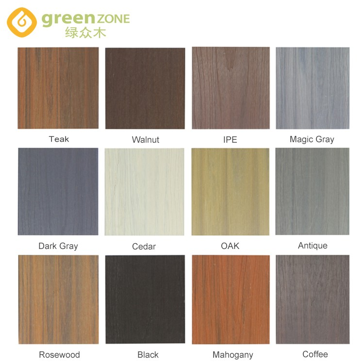Greenzone-Wpc Co-extrusion Outdoor Hollow Decking Del13823- Greenzone-16