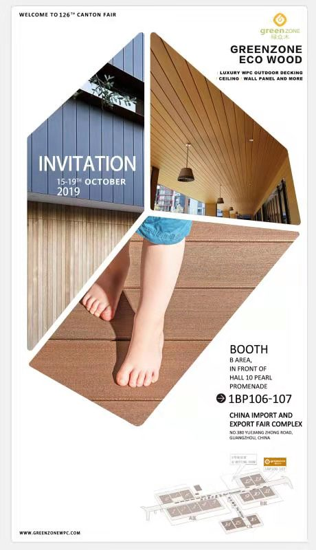 Greenzone-Welcome To Visit Us At 126th Canton Fair,15th-19th Oct, 2019, 1 Bp106-1bp107