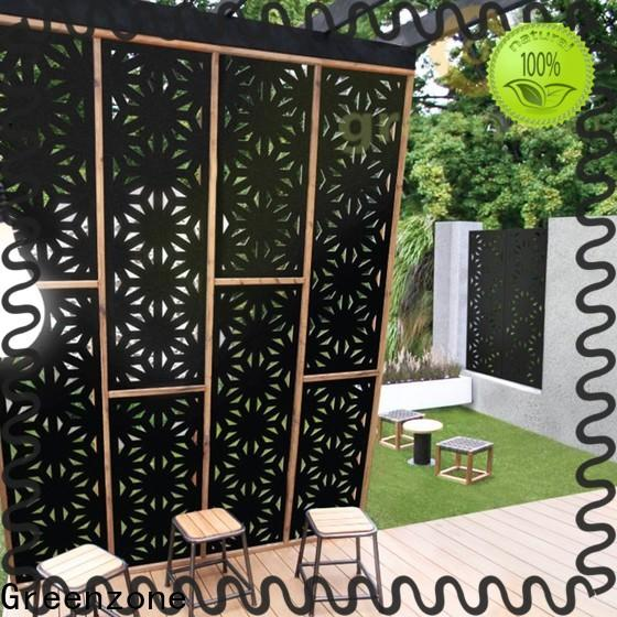 Greenzone best carved wood wall art decorative railing outside yard